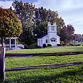 Little Village Chapel Of The Immanuel Lutheran Church by Paul Cannon