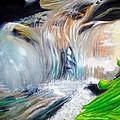 Little Waterfall by Ashley Casterline