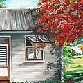 Little West Indian House 1 by Karin  Dawn Kelshall- Best