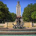 Littlefield Fountain - University Of Texas by Mountain Dreams