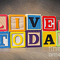 Live For Today by Art Whitton