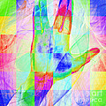 Live Long And Prosper 20150302v1 Color Squares Sq by Wingsdomain Art and Photography