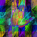 Live Long And Prosper 20150302v2 Color Squares With Text by Wingsdomain Art and Photography
