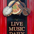 Live Music Daily by Bill Cannon