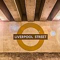 Liverpool Street Underground by Semmick Photo