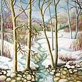 Living Creek by Inese Poga