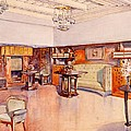 Living Room, 1905 by Alfred Grenander