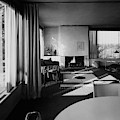 Living Room In Mr. And Mrs. Walter Gropius' House by Robert M. Damora