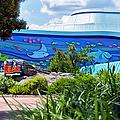 Living Seas Signage Walt Disney World by Thomas Woolworth