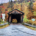 Livingston Manor Covered Bridge by Deborah Benoit