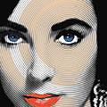 Liz Taylor by Tony Rubino