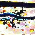 Lizard Landing by Lady Ex