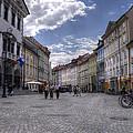 Ljubljana Old City by Uri Baruch