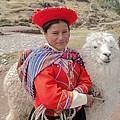 Llama Lady by Barbie Corbett-Newmin