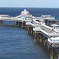 Llandudno Pier by Christopher Rowlands