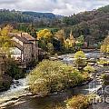 Llangollen And The River Dee by Ann Garrett