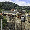 Llangollen Railway Station by Fran Gallogly