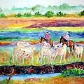 llanos Cowboys by Patricia Beebe