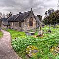 Llantysilio Church by Adrian Evans
