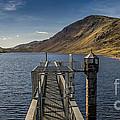 Llyn Cowlyd Reservoir by Adrian Evans