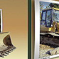 Loader - Cross Your Eyes And Focus On The Middle Image by Brian Wallace