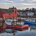 Lobster Boats At Motif 1 by Jeff Folger