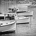 Lobster Boats In Bass Harbor And Bernard Maine  by Keith Webber Jr