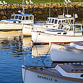 Lobster Boats - Perkins Cove -maine by Steven Ralser