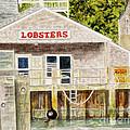 Lobster Shack by Carol Flagg