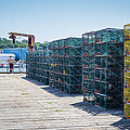 Lobster Traps by George DeLisle