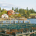 Lobster Village In Autumn, Southwest by Panoramic Images