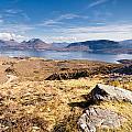 Loch Torridon From Bealach Na Gaoithe by David Head