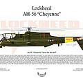 Lockheed Ah-56 Cheyenne by Arthur Eggers