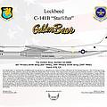 Lockheed C-141b Starlifter Golden Bear by Arthur Eggers