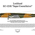 Lockheed Ec-121r 553rs Korat Rtafb by Arthur Eggers