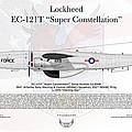 Lockheed Ec-121t Super Constellation by Arthur Eggers