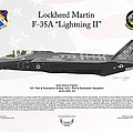 Lockheed Martin F-35a Lightningii by Arthur Eggers
