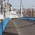 Locks On Bridge by Evgeny Pisarev