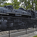 Locomotive 639 Type 2 8 2 Side View by Thomas Woolworth