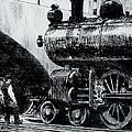 Locomotive by Edward Hopper