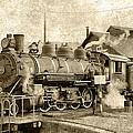 Locomotive No. 15 In The Yard by Daniel Hagerman