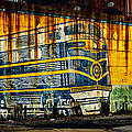 Locomotive On A Wall by Bill Swartwout Fine Art Photography