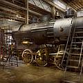 Locomotive - Repairing History by Mike Savad