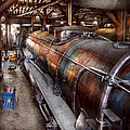 Locomotive - Routine Maintenance  by Mike Savad