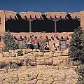 Lodge At Grand Canyon by Carl Purcell
