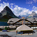 Lodge At Many Glacier, Glacier National by Panoramic Images