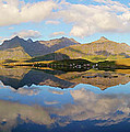 Lofoten Panorama Selfjorden Norway by Heiko Koehrer-Wagner