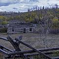 Log Cabin by Carolyn Fox