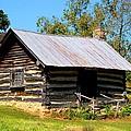 Log Cabin by Kathryn Meyer