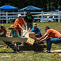 Log Cutting Competition by Sherman Perry